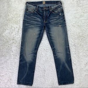 PRPS Barracuda Distressed Straight Jeans 32x32